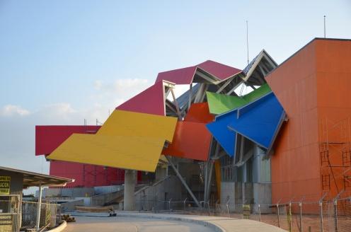The Museum of Biodiversity, still under construction.