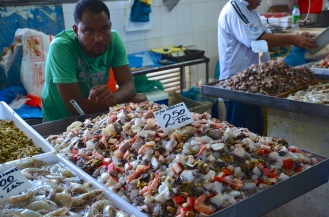 I've never seen seafood sold like this before (mixed).