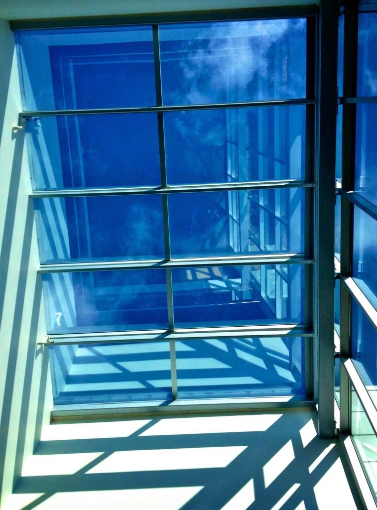 Skylight at USA corporate headquarters; Fredericksburg, Virginia