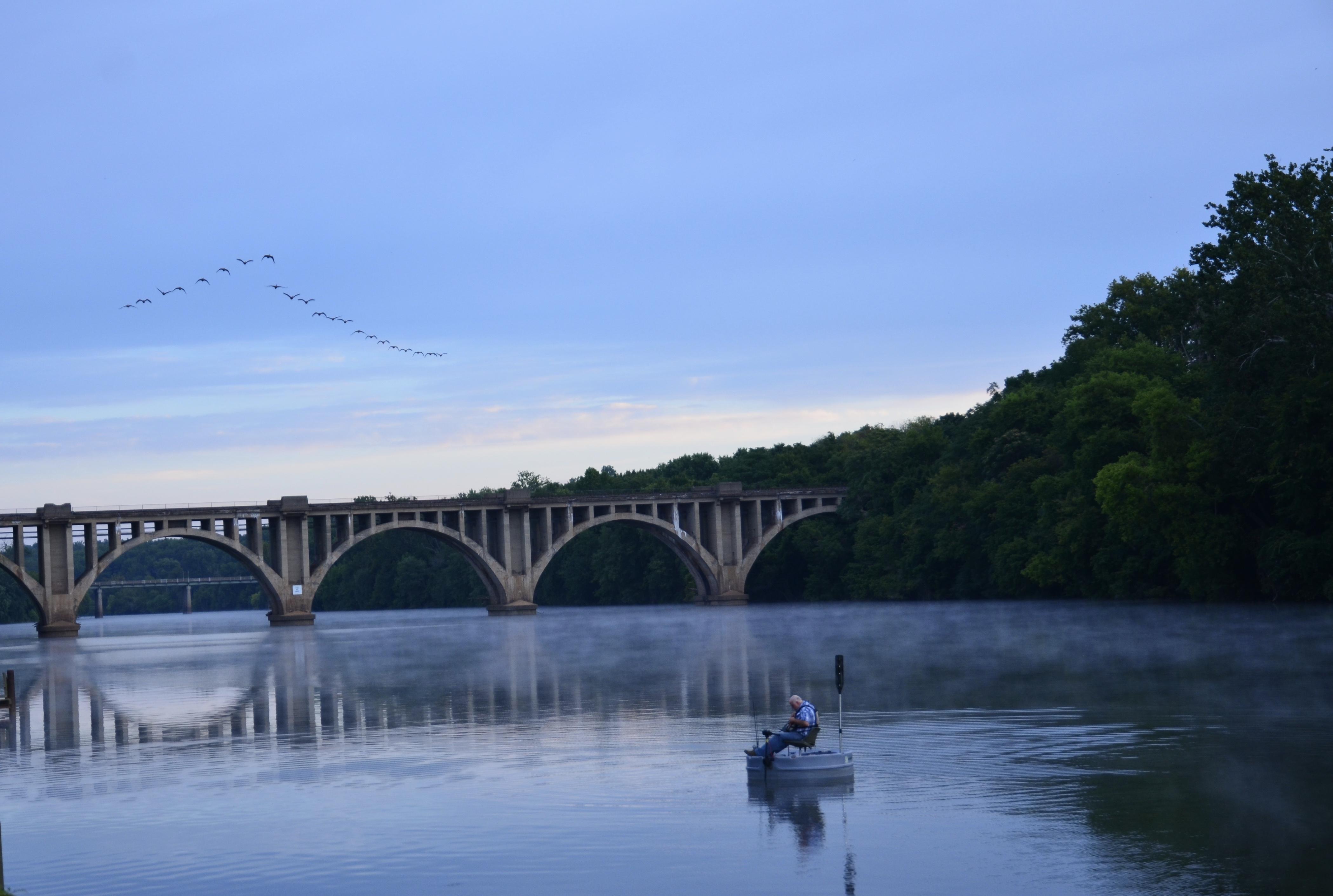 Rappahannock River; Fredericksburg, Virginia