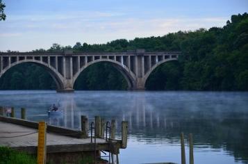 Rappahannock River in Fredericksburg