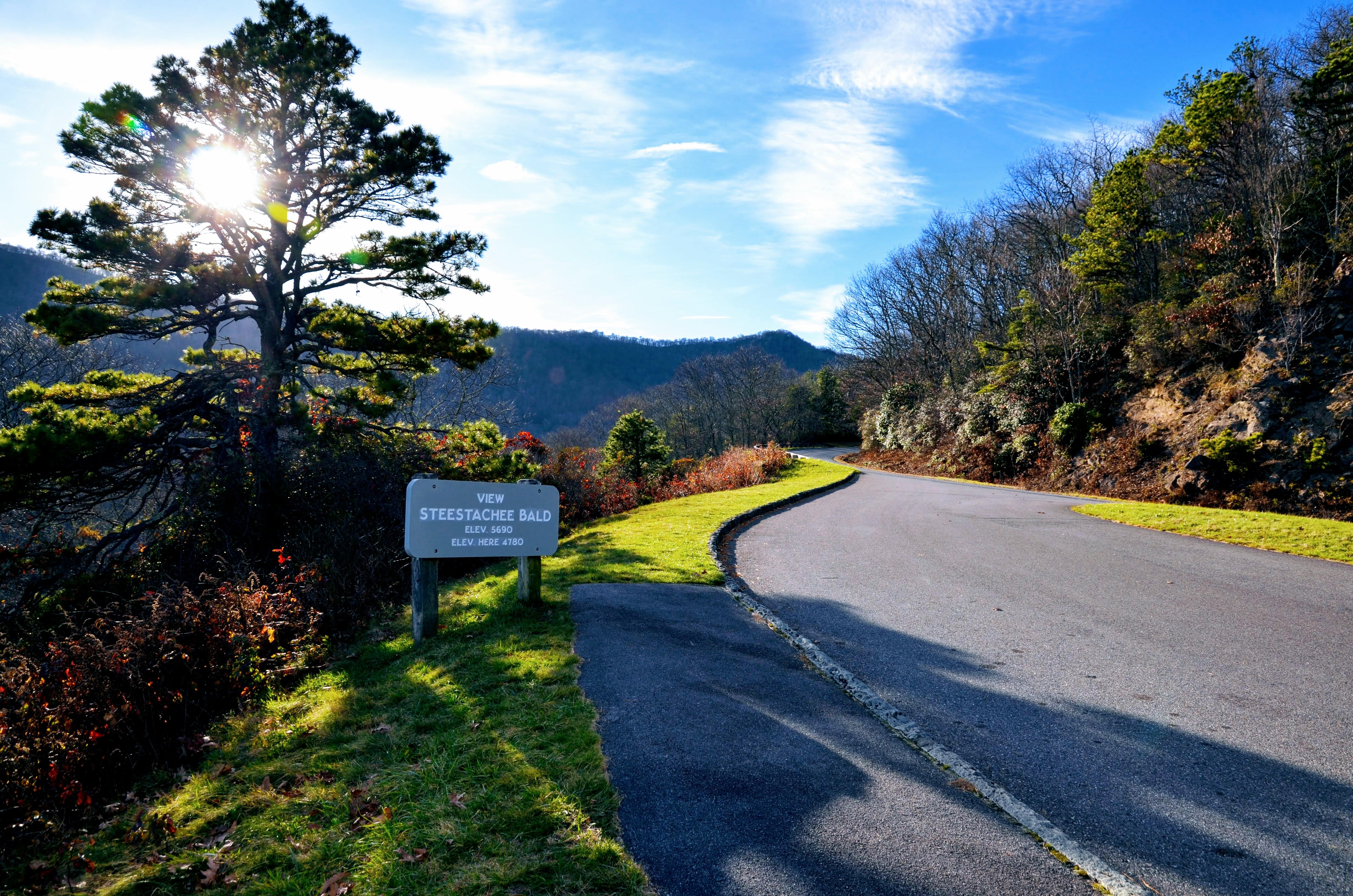 On the Blue Ridge Parkway, North Carolina